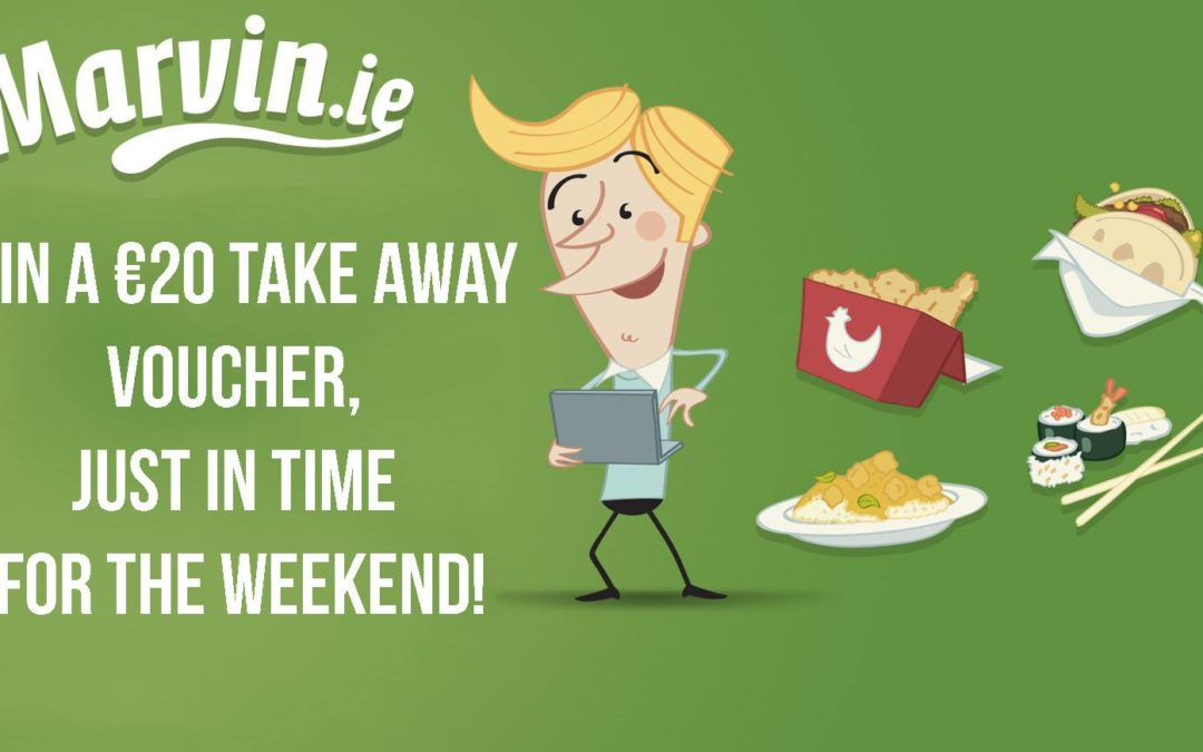 Win €20 Takeaway with Marvin.ie